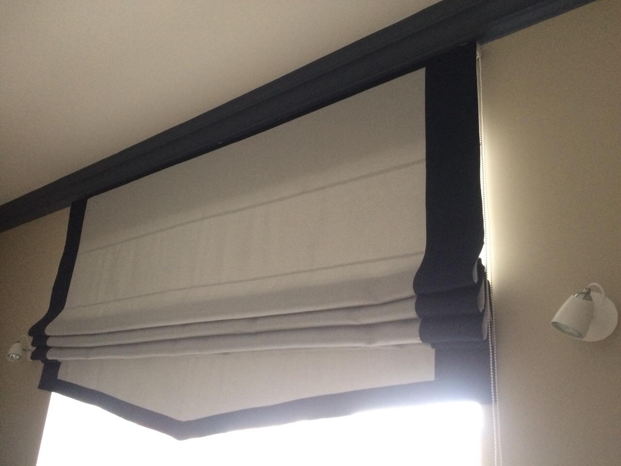 Комбинированная римская штора