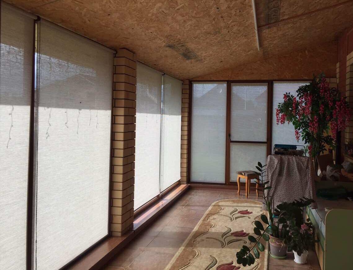 Рулонные шторы для вернады